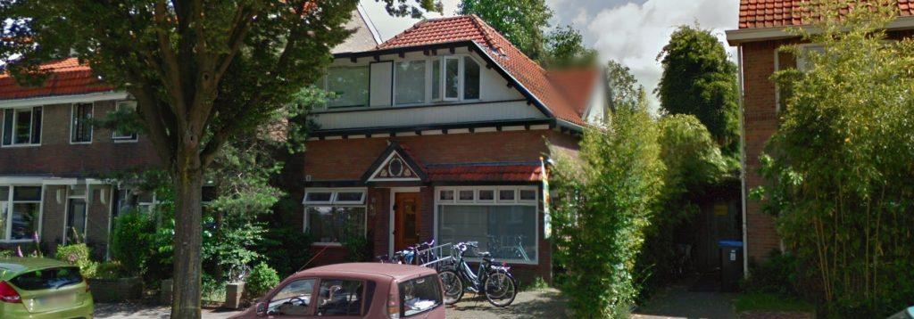 Foto van het studentenhuis aangekocht voor een klant van Bouwmeester Vastgoed te Nijmegen